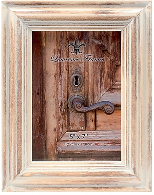 5x7 White Wash Maple Picture Frame