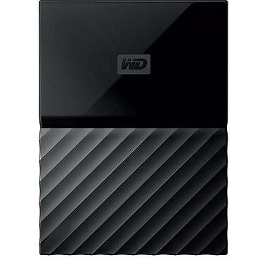 WD My Passport 4TB Portable Hard Drive, Black