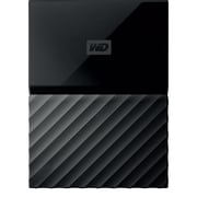 WD My Passport 2TB Portable Hard Drive, Black