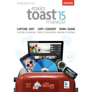 Roxio Toast 15 Titanium for Mac (1 User) [Download]
