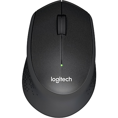 Logitech M330 Silent Plus Wireless Mouse, Black (910-004905)