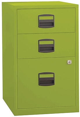 Merveilleux Bisley Three Drawer Steel Home Or Office Filing Cabinet, Green, Letter/A4  (FILE3 GR) | Staples