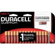 Duracell Battery Quantum Alkaline AAA, 16/Pack