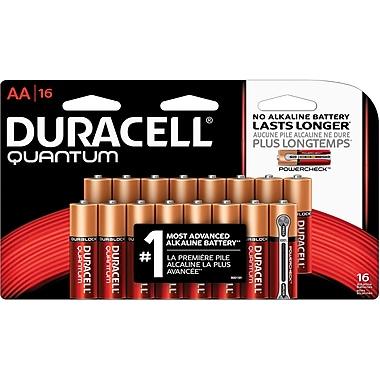 Duracell Battery Quantum Alkaline AA, 16/Pack
