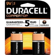 "Duracell® Alkaline ""9V"" Batteries, 2-Pack"