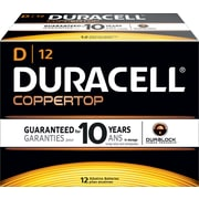 Duracell D Alkaline Batteries, 72/Pack
