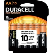 "Duracell® Alkaline ""AA"" Batteries, 16-Pack"