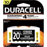 Duracell Lithium Medical Battery, 3V, #10, 8/pk