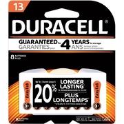 Duracell #13 Button-Cell Zinc Air Battery, 8/Pack (DA13B8ZMR09)
