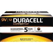 Duracell® Quantum Alkaline 9V Batteries, 12/bx