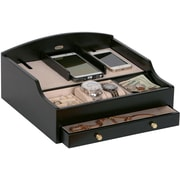 Mele & Co. Ricardo Wooden Charging Station in Java Finish