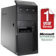 Refurbished Lenovo M91P-T, Desktop Core i7-2600 3.4Ghz, 8GB Ram, 2TB HDD, DVDRW, Windows 10 Professional 64bit