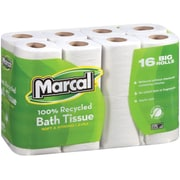 Marcal® 100% Premium Recycled Bathroom Tissue, 2-Ply, 96 Rolls/case