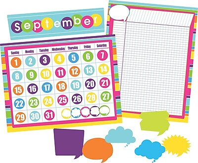 Barker Creek Happy Calendar and Incentive Chart Set