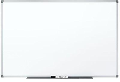Quartet® Standard DuraMax® Porcelain Magnetic Whiteboard, 6' x 4', Silver Aluminum Frame