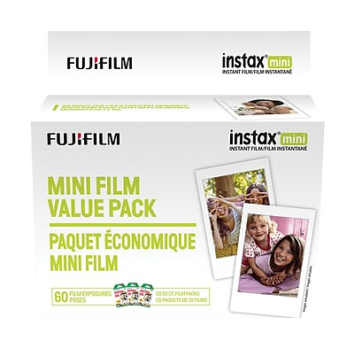 Fujifilm Instax Instant Film Value Pack for Instax Mini 8, Mini 7 and Mini 25