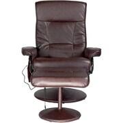 Relaxzen PVC Leisure Recliner, Brown (60-425111)