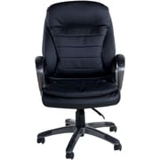 OneSpace Bonded Leather Executive Chair, Black (60-2383)
