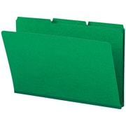 "Smead® Pressboard File Folder, 1/3-Cut Tab, 1"" Expansion, Legal Size, 25/Box"
