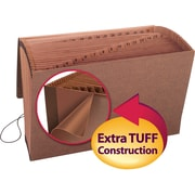 Smead® TUFF® Expanding File with Flap and Elastic Cord Closure, Legal Size, Redrope-Printed Stock, Each