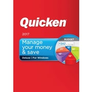 Quicken Deluxe 2017 for Windows (1 User) [Download]