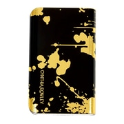 Cynthia Rowley, Portable Rechargeable Backup Battery, Black/Gold 6000 mAh (CR-ST-PP3208BD)