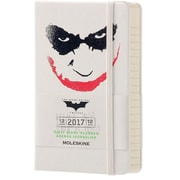 "2017 Moleskine® Weekly Planner, 12 Month, 5"" x 8.25"", Batman Hard Cover, Large (892925)"