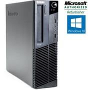 Refurbished Lenovo Thinkcentre M77 SFF Desktop AMD Dual Core 2.8Ghz 4GB RAM 280GB HDD Windows 10 Home
