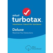 TurboTax Deluxe + State 2016 for Mac (1 User) [Download]