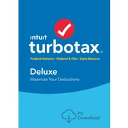 TurboTax Deluxe + State 2016 for Windows (1 User) [Download]