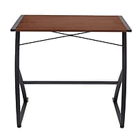Staples Chestnut Laminate Computer Desk Deals