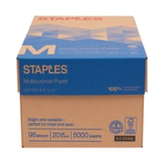 "Staples® Multipurpose Paper, 8 1/2"" x 11"", Case"