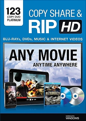 Bling 123 Copy DVD Platinum for Windows (1-3 Users) [Download]