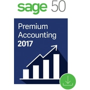 Sage 50 Premium Accounting 2017 US for Windows (1 User) [Download]