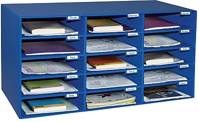 Pacon Classroom Keepers Classroom Mailbox, 15 Slots, 16 3/8