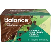 Balance Bar® Chocolate Mint Cookie Crunch Bar, 1.76 oz., 6/Bx