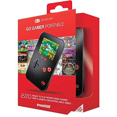 GO GAMER PORTABLE VIDEO GAMES