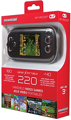 GAMER X PORTABLE WITH 220 GAME