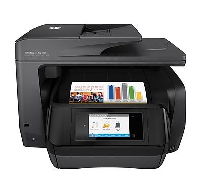 HP OfficeJet Pro 8720 All-in-One InkJet Printer, Black