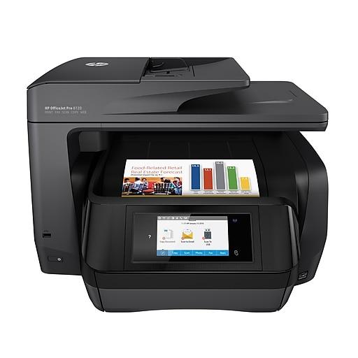 Hp Officejet Pro 8720 All In One Inkjet Printer Black Staples