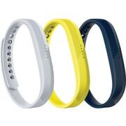 Fitbit Flex 2, Accessory 3-Pack, Sport , Large