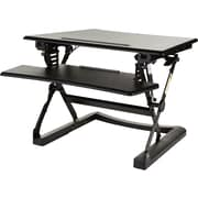 Staples Sit to Stand Adjustable Desk Riser, 27""