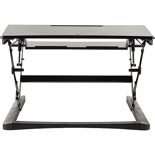 Staples Sit To Stand Adjustable Desk Riser 35 Quot Staples