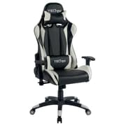 Techni Sport TS-4600 Ergonomic High Back Video Gaming Chair, White