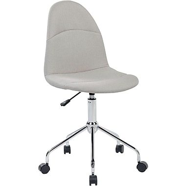 Techni Mobili Armless Task Chair. Color: Almond