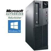 Refurbished Lenovo ThinkCentre M81 SFF Desktop Intel Core i3 3.1Ghz 4GB RAM 500GB Hard Drive Windows 10 Pro