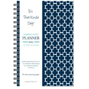 "Kahootie Co™ It's That Kinda Day™ - Daily Planner, 6"" x 9"", Navy (ITKDN)"