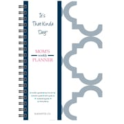 "Kahootie Co™ It's That Kinda Day™-  Mom's Weekly Planner, 6"" x 9"", Gray (ITKMG)"