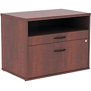 Alera® Open Office Series Low File Cabinet Credenza , 29 1/2×19 1/8×22 7/8 , Med. Cherry