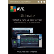AVG Ultimate 2017, Unlimited 1 Year for Windows (1-1000 Users) [Download]